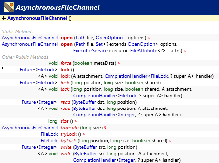 java.nio.channels.AsynchronousFileChannel